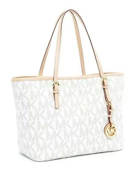 michael kors bag white branded for less. Black Bedroom Furniture Sets. Home Design Ideas